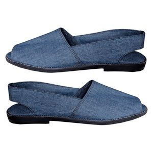 De Best Blue Jean Casual Sandal